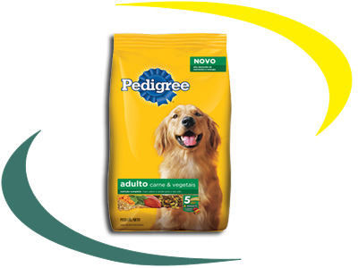 Pedigree Adulto Carne e Vegetais
