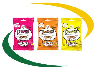 Petisco Dreamies 40 g